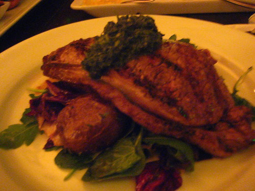 Wood-Grilled Flank Steak @ Kouzzina, Boardwalk