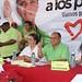 Manuel Añorve Baños apoyado por la dirigentes Priísta Beatríz Paredes y Ruth Zavaleta.