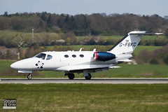 G-FBKC - 510-0127 - Private - Cessna 510 Citation Mustang - Luton - 100421 - Steven Gray - IMG_0129