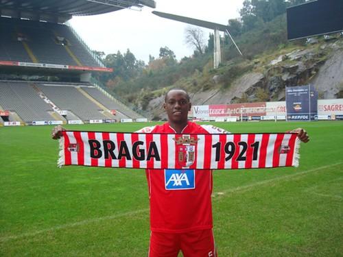 Vinicius 1º reforço do SC Braga ©SCB
