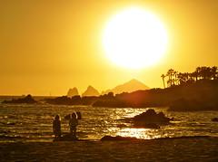 Afterglow (jurvetson) Tags: ocean sunset yellow mexico landsend baja esperanza