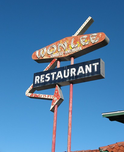 Won Lee Restaurant Sign Deland FL