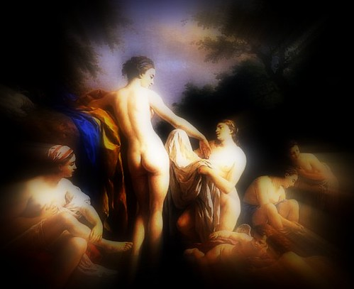 Venus and Nymphs Bathing (2) - relendo Lagrenée