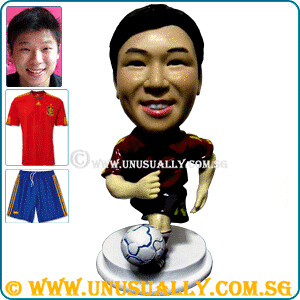 Personalized 3D Spain Team Soccer Figurine