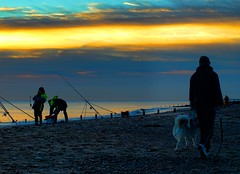 PB134432 Anglers on Hornsea Beach (pete riches) Tags: sea sky beach clouds sunrise coast fishing sand surf waves fishermen shingle resort northsea lures rods beachfishing casting nylon cloudporn bait waders wellingtons carbonfiber anglers fishingline fishingrod carbonfibre eastyorkshire hornsea angling holderness waterproofs monofilament seaanglers fishingtackle eastyorks hornseabeach athornsea peteriches lugwoms jupiter1uk