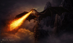 The Dragon of Hell (balt-arts) Tags: dark fire dragon hell fantasy baltasar vischi