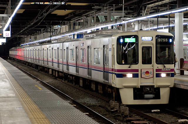 2011年急行迎光号 京王9000系9005F