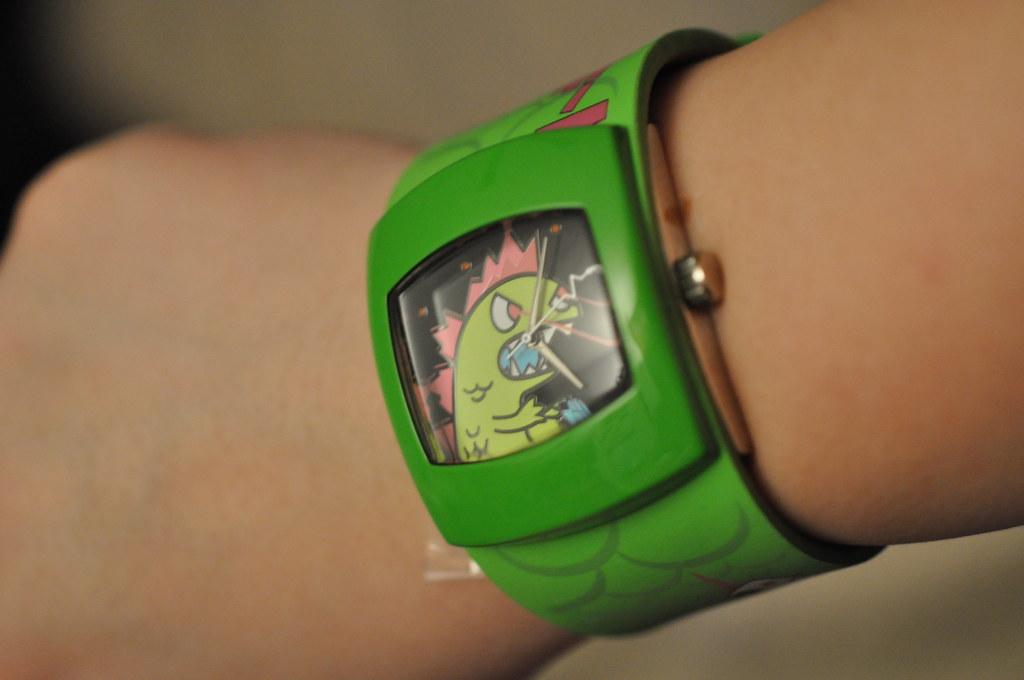 Tokidoki Kaiju Watch (It's Monster O'Clock)