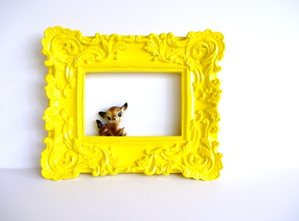 Yellow-Bliss-Baroque-Frame-From-Amye-123-On-esty