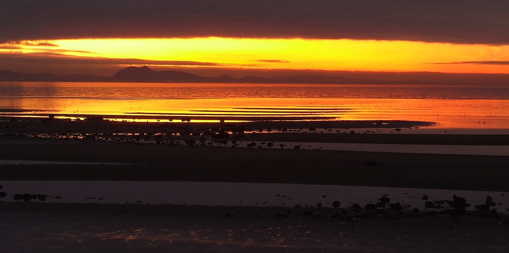 Gosford Sands at Sunset, East Lothian
