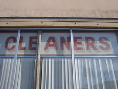 cleaners (Sundown Cleaners, 1952 Irving Street at 21st Avenue) (throgers) Tags: sanfrancisco california cleaners 21st guesswheresf irving foundinsf gwsf gwsflexicon sundowncleaners