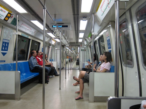 Porządne, singapurskie metro