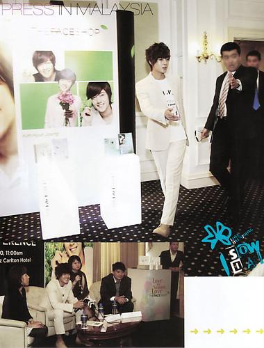 Kim Hyun Joong ASTA TV Jan 2011 Issue