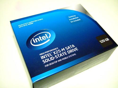 INTEL X25-M SATA SSD 120GB