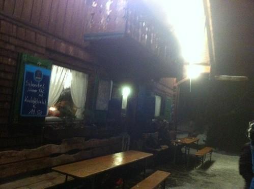 Die Martinshütte am Kramer