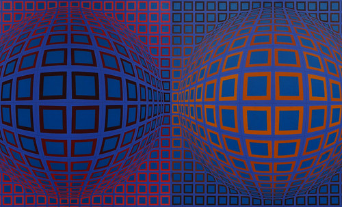 "Victor Vasarely • <a style=""font-size:0.8em;"" href=""http://www.flickr.com/photos/30735181@N00/5323524369/"" target=""_blank"">View on Flickr</a>"