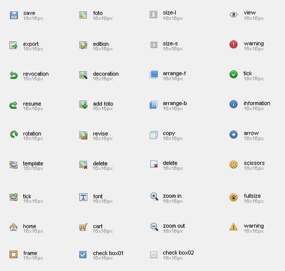 30+ Fresh Icon Sets for Web Designers and Developers