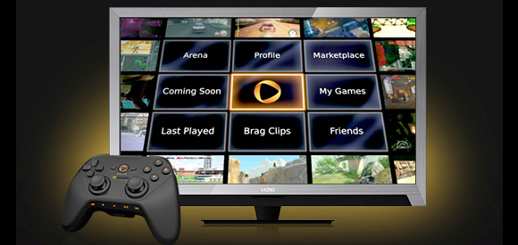 OnLive VIZIO HDTV