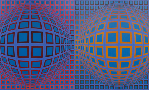 "Victor Vasarely • <a style=""font-size:0.8em;"" href=""http://www.flickr.com/photos/30735181@N00/5324128042/"" target=""_blank"">View on Flickr</a>"