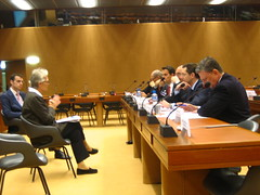 UNISDR hosts inaugural meeting of Private Sect...