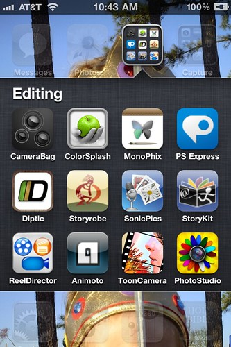 Editing Apps for iPhoneography