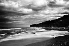 Litibu en blanco y negro (Arenamarysol Photography) Tags: ocean travel sea sky beach water clouds mexico mar sand agua playa nayarit viajes cielo nubes mexique litibu blackwhitephotos rivieranayarit vivemexico arenamarysol