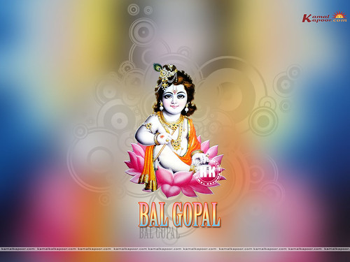 wallpaper of baby krishna. Baby Krishna Wallpapers
