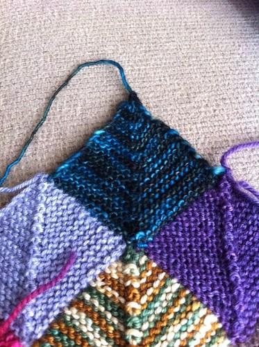 Insanity Blanket Knitting Pattern : More yarn insanity? knithitsthefan.com
