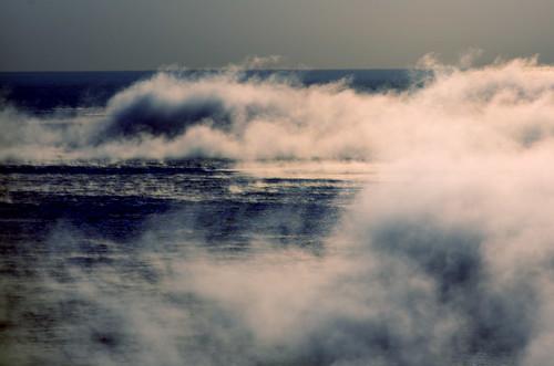 フリー写真素材, 自然・風景, 海, 霧・霞, 日本,