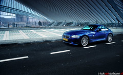 I'm Blue (Da Ba Dee).. (Luuk van Kaathoven) Tags: blue wheels da bmw ba van dee csl coup luuk z4m luukvankaathovennl kaathoven