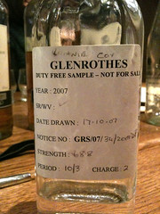 Glenrothes Sample