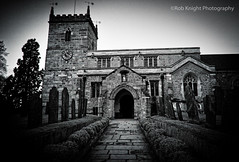 9/365scape (ROB KNIGHT photography) Tags: nottingham bw church architecture mono blackwhite religion monochromatic photoaday stpete nottinghamshire robknight project365 kirkhill eastbridgford canoneos5dmkii axeman3uk robknightphotography canon24105efs 365scape 9365scape