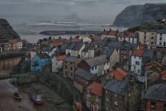 Yorkshire Seaside village (TomRush) Tags: landscape seaside rooftops yorkshire hdr