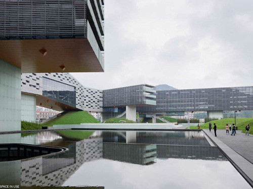 Horizontal Skyscraper/Vanke Center - American Institute of Architects