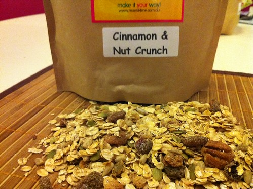 Cinnamon & Nut Crunch Muesli Mix