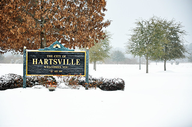 hartsville sign