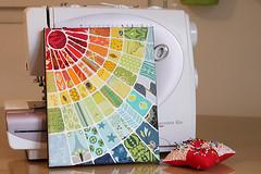 Sunshine6 (Bonjour Quilts) Tags: painting fabric starburst queenslandfloodreliefauction