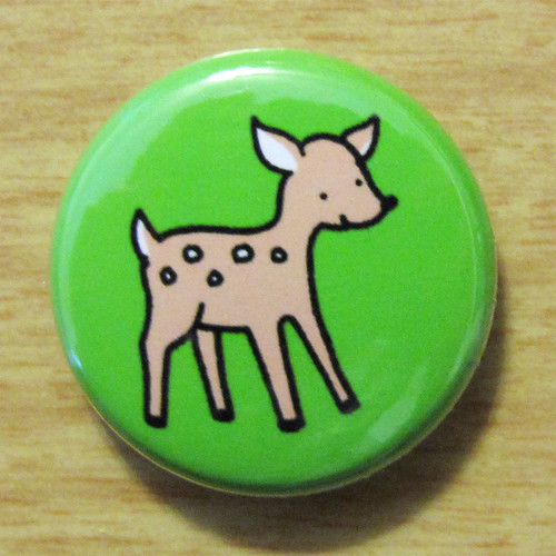 Woodland Deer - Button 01.10.11