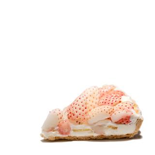 White Strawberry Tart @ Qu'il Fait Bon