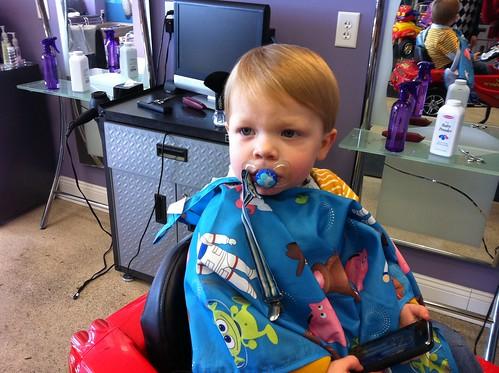 110108 Coleman's Haircut
