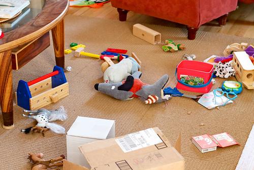 Living Room Mess