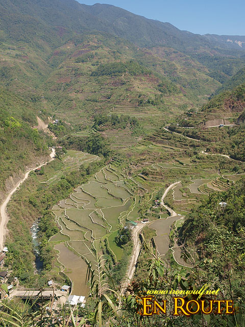 The mountain view to Hapao