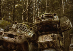 car graveyard sweden (andre govia.) Tags: building cars abandoned grave car buildings hospital photo closed photos decay rusty andre explore trespass horror sanatorium left explorers crusty decaying ue urbex hospitals asylums tcksfors sewden bstns govia bext andregovia