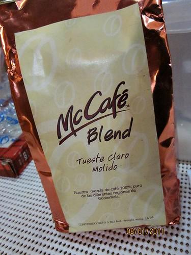 快樂雲帶來瓜地馬拉的麥當勞咖啡_攝影者阿Mei