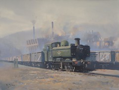 phurnacite plant cynon valley (picton_richard) Tags: plant industry wales train industrial engine steam valley locomotive welsh 57 cynon uksteam phurnacite