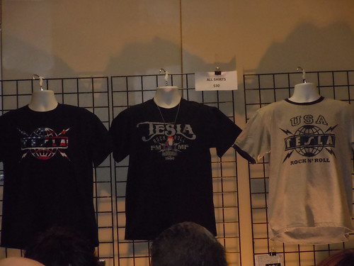01/14/11 Tesla @ Treasure Island Casino, Welch, MN (Merch. Booth)