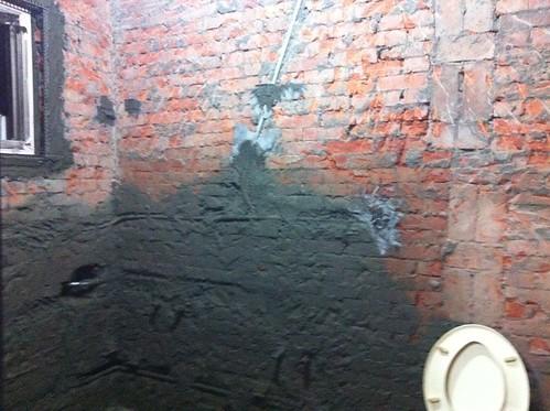 施工第六天-廁所