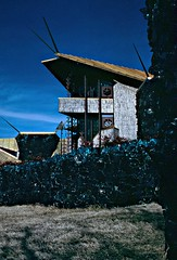 Shinenkan - office (Thompson Photography) Tags: oklahoma architect coal ok picnik organicarchitecture bartlesville brucegoff scancafe2 glasscullet joepricehouse shinenkan 1956through1970 destroyedbyarson1996