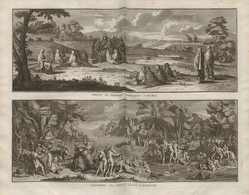 Deuil des Femmes Greques a Rama + Bapteme des Grecs dans le Jourdain (V. 3)