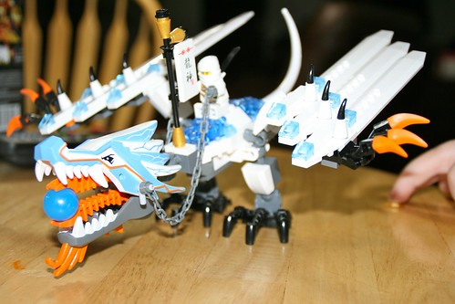 Ninjago Ice Dragon Coloring Pages Lego 2260 Ninjago Ice Dragon